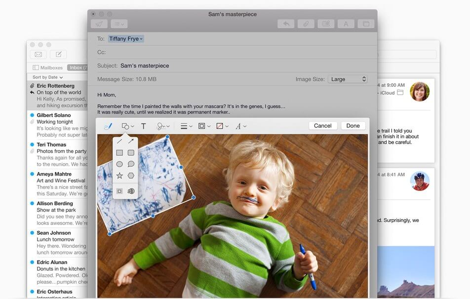 Почтовый клиент Apple Mail для OS X