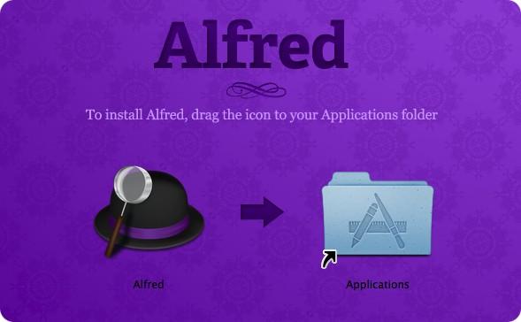 Установка Alfred в два шага