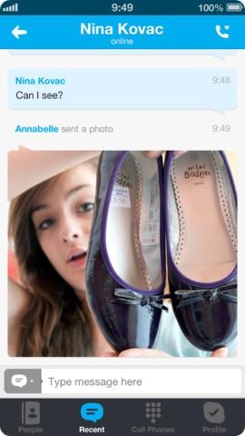 Скачать Skype для iPhone бесплатно