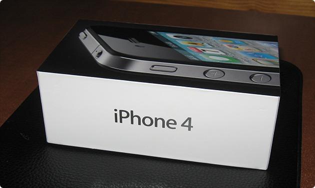 Коробка iPhone 4