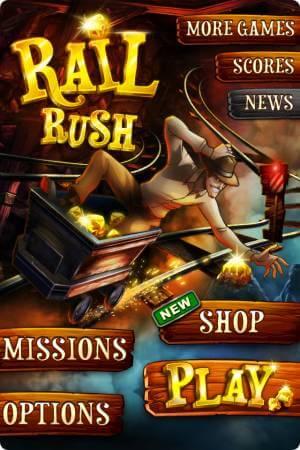 Rail Rush iPhone скачать