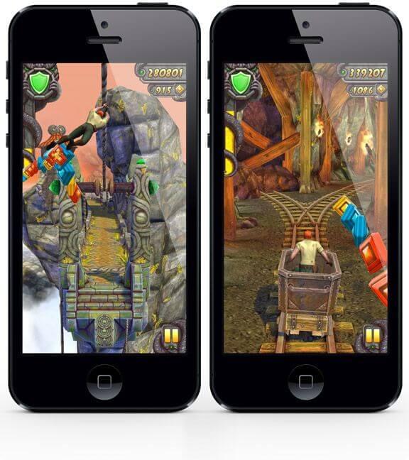 Temple Run 2 iPhone скачать бесплатно