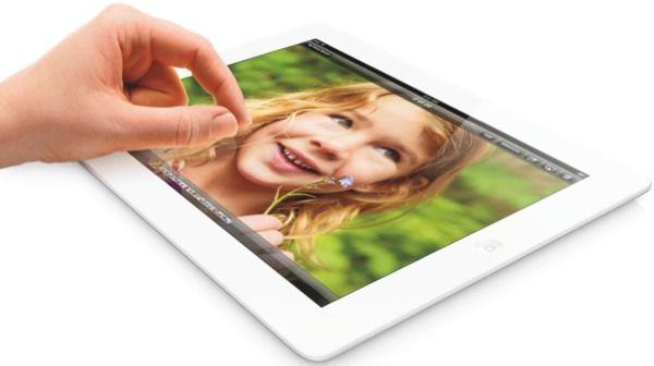 Retina дисплей на iPad 4