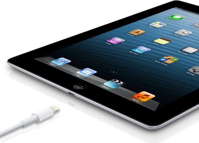 Lightning коннектор в новом iPad