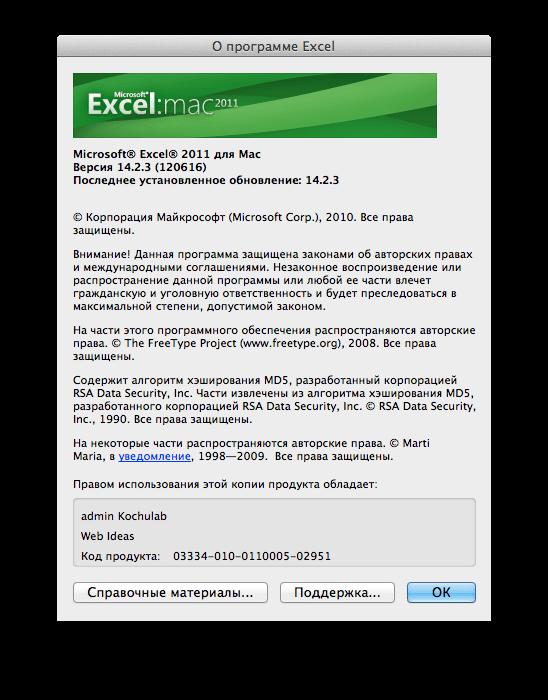 Про программу Microsoft Excel