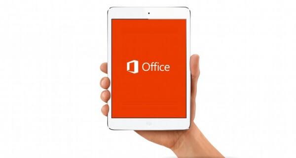 Скачать Office для iPad нельзя