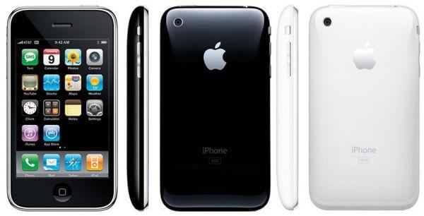 Экран и технические характеристики Apple iPhone 3G