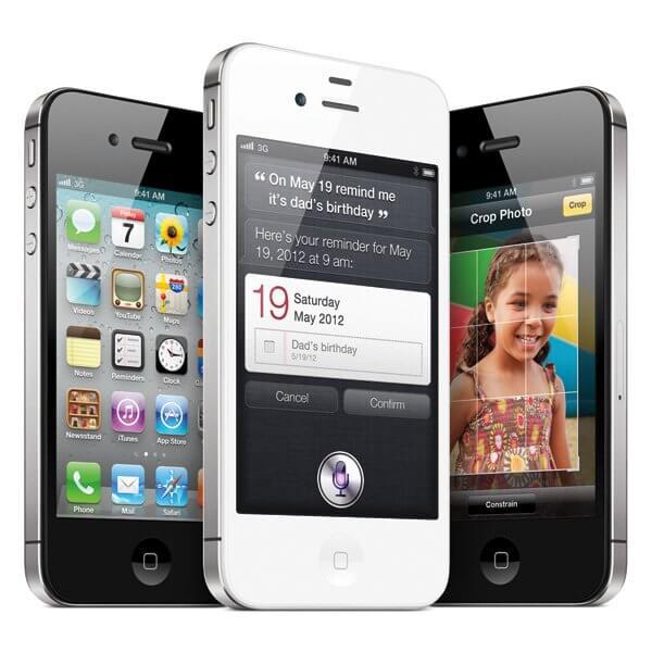 iPhone 4S: цвет, Siri - голосовой помощник