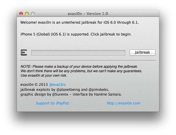 Как сделать джейлбрейк iOS 6.1