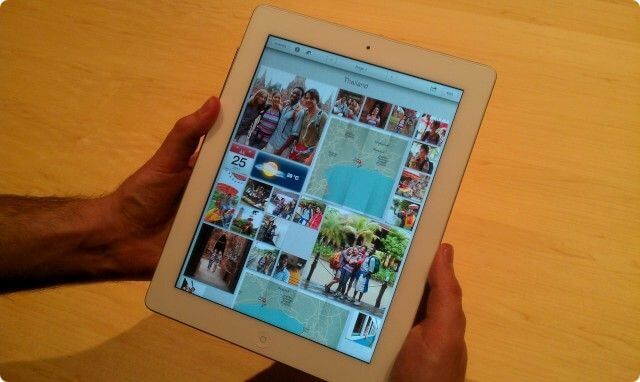 Дизайн iPad 3