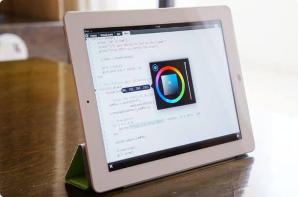 Codea HD для iPad