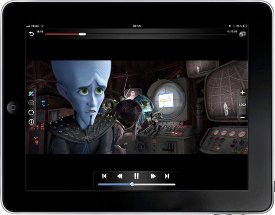 Скачать AVPlayer HD для iPad