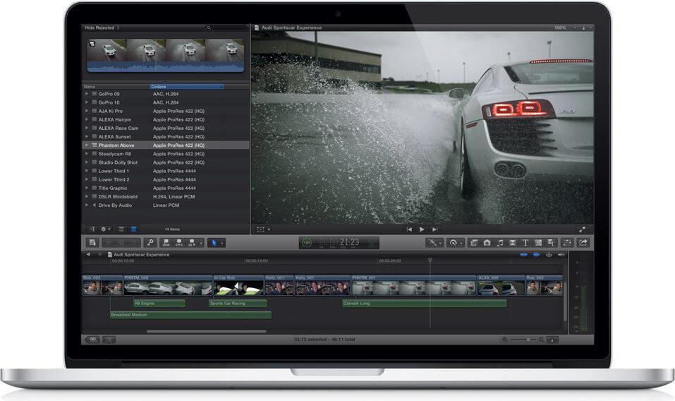 Final Cut Pro X для OS X