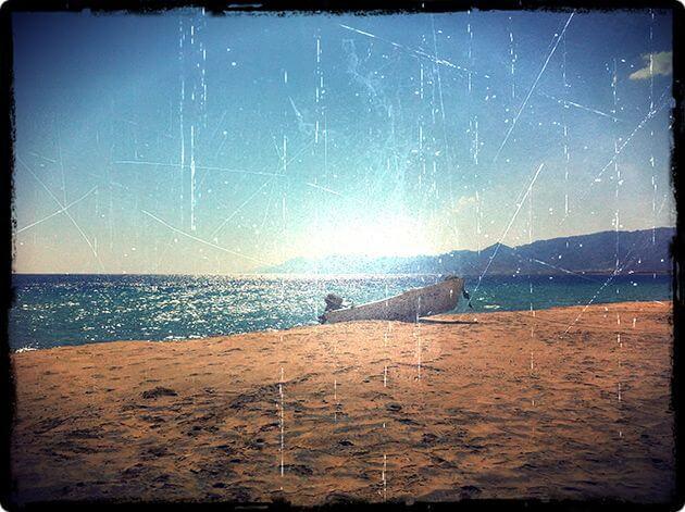 Море, пляж - iPhone фото