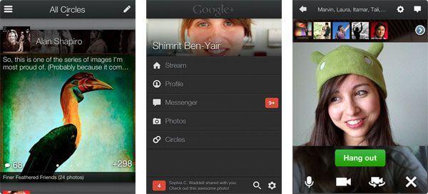 Скачать Google+ для iPhone