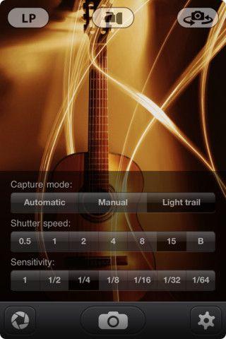 Slow Shutter Cam для iPhone - наложение эффекта для фото
