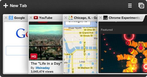 Мобильный Браузер Chrome для iPhone