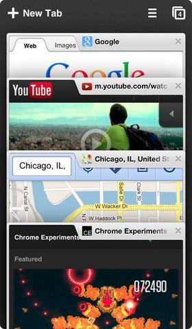 Браузер Chrome для iPhone
