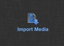 Импорт медиа Final Cut Pro X