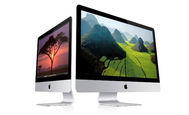 Модели Apple iMac 21,5 и iMac 27