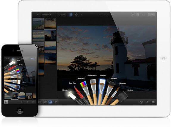Программа iPhoto для iOS