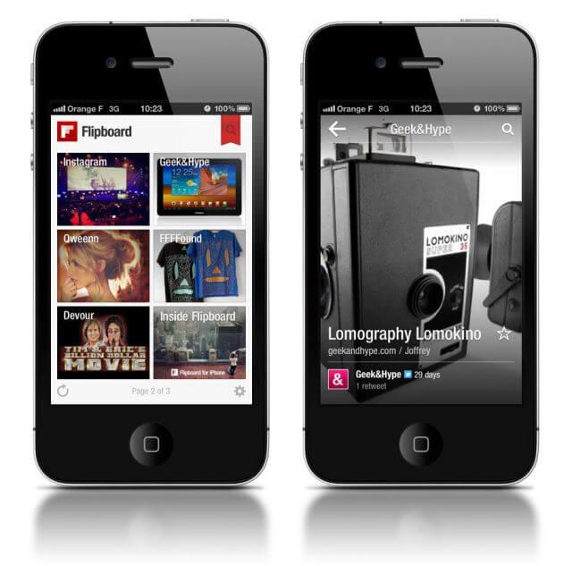 Flipboard для iPhone, iPad и iPod Touch