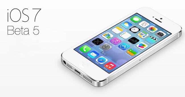 Обзор iOS 7 beta 5