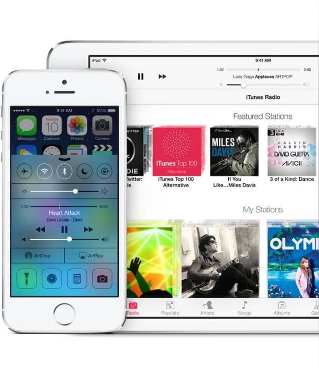 Официальный релиз iOS 7