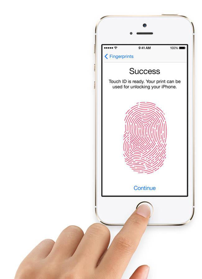 Сканер отпечатков пальцев TouchID