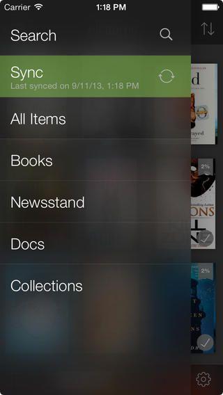 Поиск в читалке Kindle