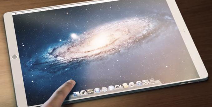 Концепт iPad Pro