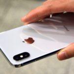 iphone x вид сзади