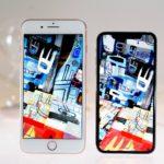 iphone x и iphone 8 Plus сравнение