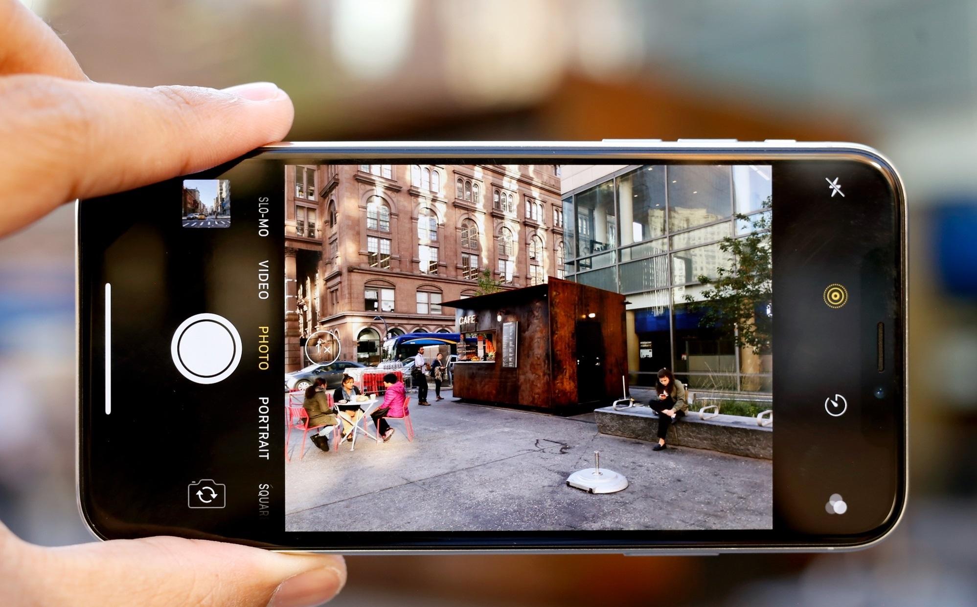 iphone x камера