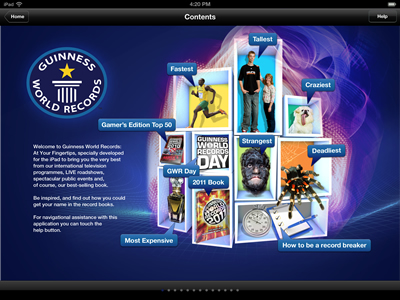 Guinness World Records At Your Fingertips
